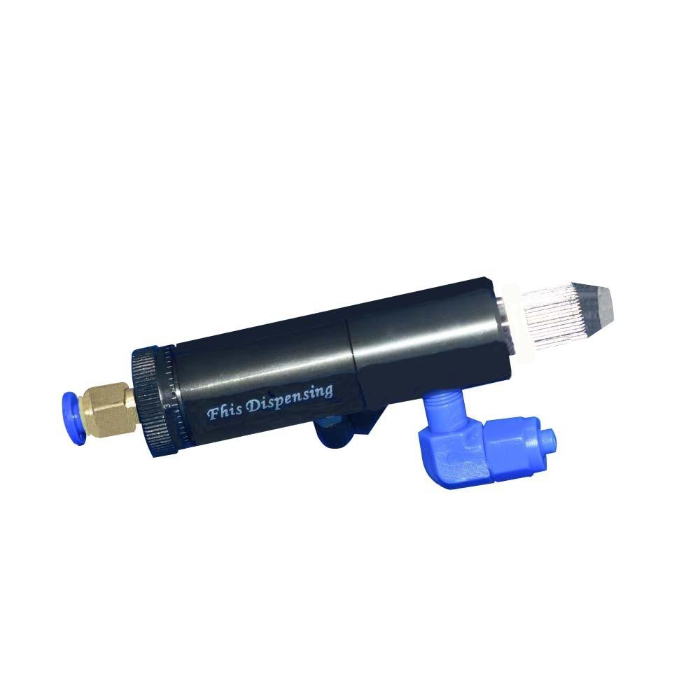 La válvula de control neumática de plástico de líquido único circular tipo E de péndulo FHIS25 puede ajustar la cantidad de pegamento