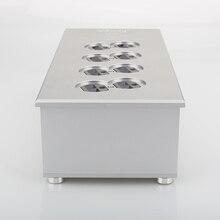 HiFi мощность фильтр завод США розетка 8 способов US AC кондиционер Audiophile Мощность очиститель US AC мощность бар дистрибьютор