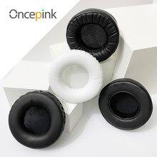 Oncepink substituição earpads para philips hs500 fones de ouvido capa almofada da orelha peças reparo acessórios