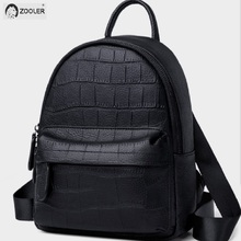 Black Genuine Leather Backpack girls COW leather backpacks Luxury soft school bag travel tote bags high quality Bolsas#SC222 luxury mens cow leather backpack leather bag military style