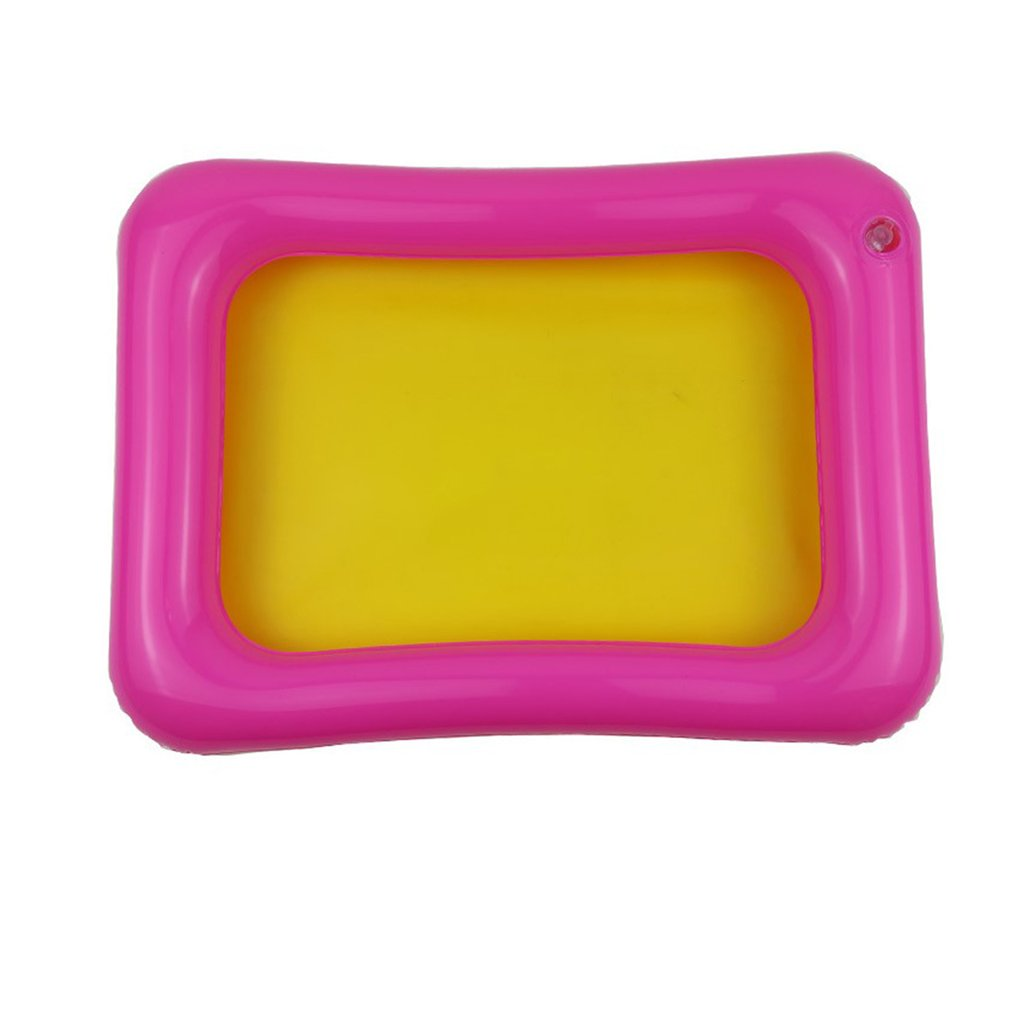 Inflatable Sand Tray Castle Mobile Table PVC Sandbox Sensory Tray Funny Indoor Play Toys Pool Tray For Children