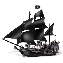 New Collector's Edition Toy Pirates of The Caribbean The Black Pearl Ship Compatible Legoingly Pirates 4184 Building Blocks Gift стоимость