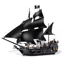 New Collector's Edition Toy Pirates of The Caribbean The Black Pearl Ship Compatible Legoingly Pirates 4184 Building Blocks Gift