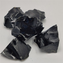 Natural Raw Black Obsidian Quartz Stones Rough Rock Crystals Metaphysical Reiki Healing Size Energy Healing Stone