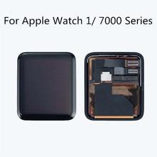 все цены на 100% Test For Apple Watch Series 1st Gen LCD Display Touch Screen Digitizer 38mm/42mm Replace For Apple Watch 1 LCD 7000 Display онлайн