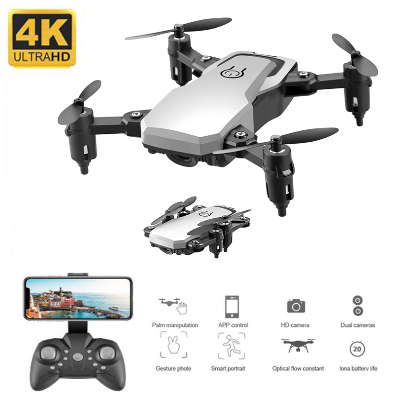 New Mini Drone with 4K <font><b>Camera</b></font> HD Foldable Drones One-Key Return FPV Quadcopter Follow Me RC Helicopter Quadrocopter Kid's Toys image