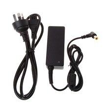 Ac dc fonte de alimentação carregador adaptador cabo conversor 19v 2.1a para lg monitor lcd tv dropship