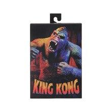 NECA Gorillas Kingkong игрушечная экшн-фигурка модель