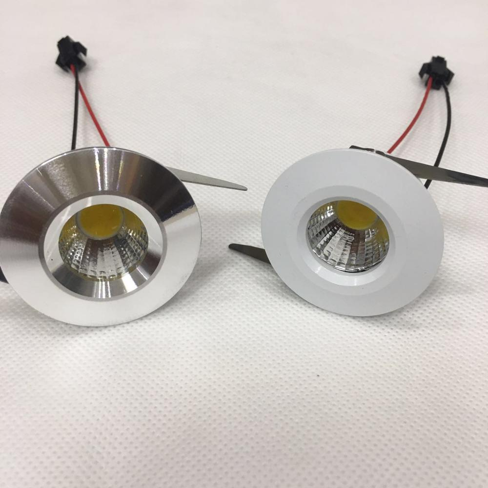 5pcs/lot 39mm Diameter  Cut Size 30mm Led Cabinet  Mini Spot Light  3W Include Led Driver AC85-265V 30mm*30mm Mini Downlight