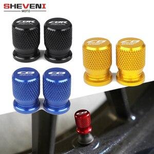 For Honda CB 650R 650F CBR 650R CB650R CB650F 2014-2020 Motorcycle CNC Accessorie Wheel Tire Valve Stem Caps CNC Airtight Covers(China)