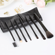 купить 7Pcs Makeup Brushes Set Foundation Blending Powder Eyeshadow Contour Concealer Blush Cosmetic Beauty and Brush Bag по цене 267.69 рублей