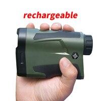 1000m Digital Hunting Golf Rangefinder Rechargeable Laser rangefinder Laser Meter Distance Measure
