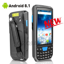 PDA Rugged Handheld Terminal Android 7.0 Barcode Reader Scanner 1D laser 2D QR Data Collector Honeywell NFC function PDA 4G wifi(China)