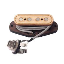 1 шт. Soundhole пикап четыре строки коробка для сигар клена 4-х полюсной акустическая Запчасти хамбакер для музыкальных инструментов для бас-гитары