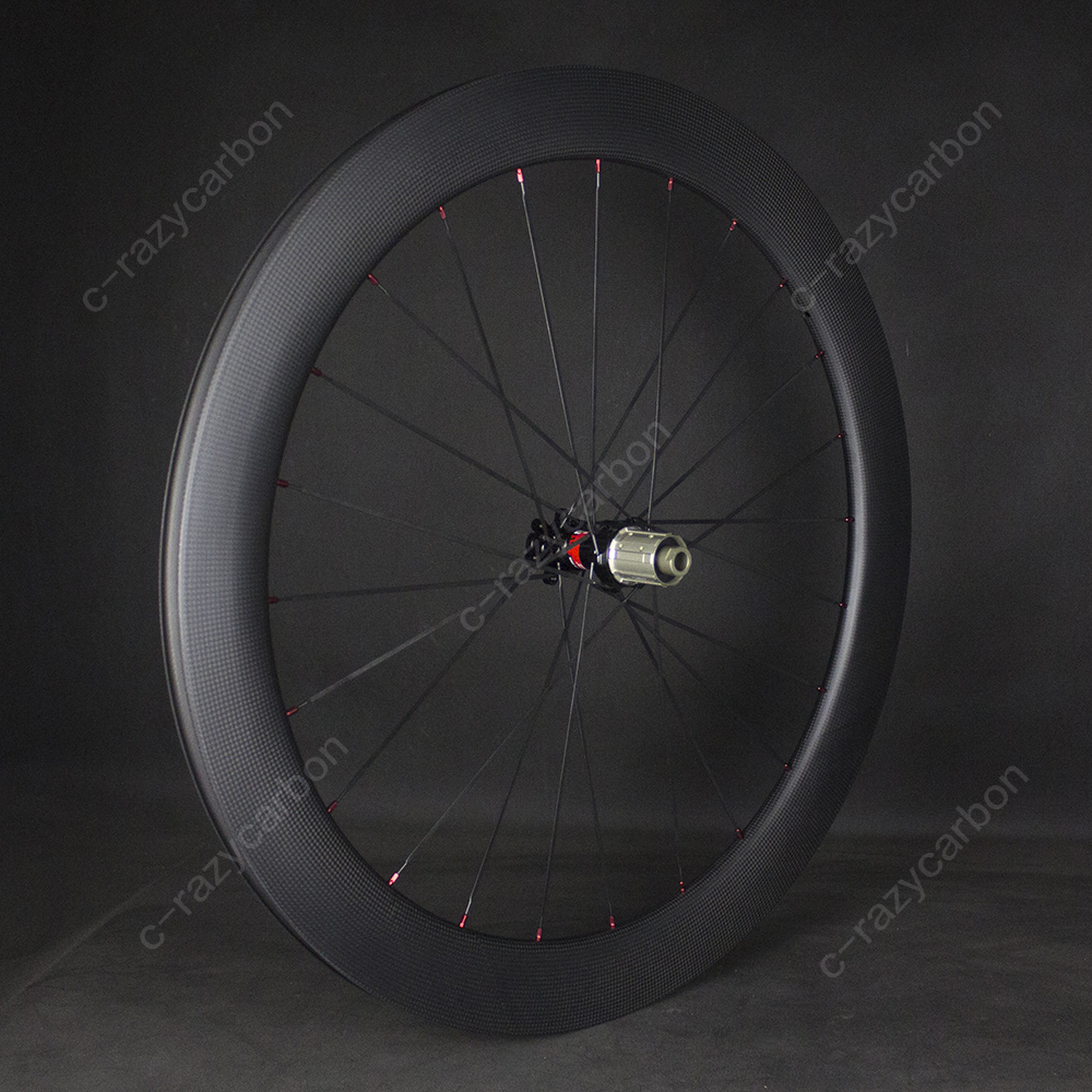 Image 5 - Best Carbon Road Race Wheels For Sale Cycling R13 D Disc Brake Center Lock Best  Clincher/Tubeless Disc Brake Road Bike WheelsBicycle Wheel   -