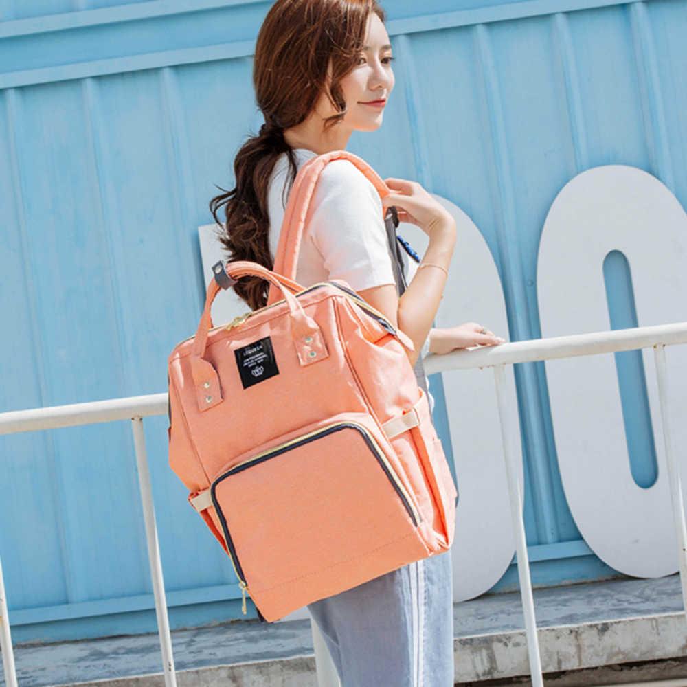 LEQUEEN детский подгузник для беременных Сумка водонепроницаемая Детская сумка подгузник для мам дорожный рюкзак непромокаемая сумка для подгузников большая емкость Мумия сумка для кормления