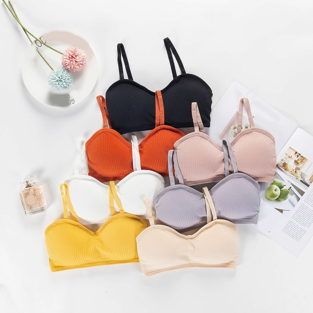 Sexy Bras For Invisible Women Push Up Lingerie Padded Bralette Wrap Top Bra Bustier Female Underwear Wild Bra Tube Seamless