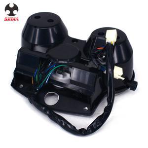 Image 5 - Motorrad Geschwindigkeit Meter Lcd computer geschwindigkeitsmesser grüne Tachometer Messgeräte Für HONDA CB1000 CB 1000 1994 1995 1996 1997 1998 180version