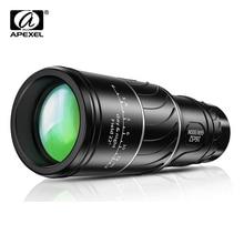 APEXEL HD 16X52 Dual Focus monocular 10x telescope lens 66/8000m monocular for Outdoor bird watching Camping Travel Sportshiking oodji 4b212004m 34390n 8000m
