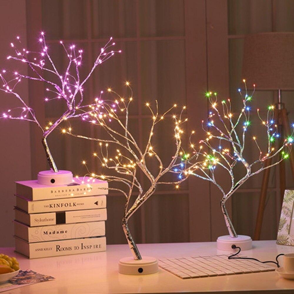 36 108 Led Tafellamp Touch Sensor Bonsai Boom Licht Gypsophila Lichten Nachtkastje Night Light Thuis Party Bruiloft Decoratie Binnenshuis Led Tafellampen Aliexpress