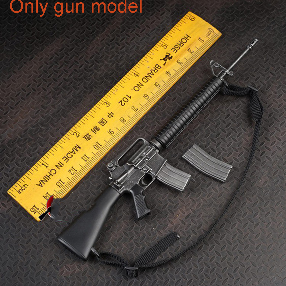 "Free Shipping 1//6 Scale Black Shotgun Assault Rifle Gun Weapon for 12/"" Figure"