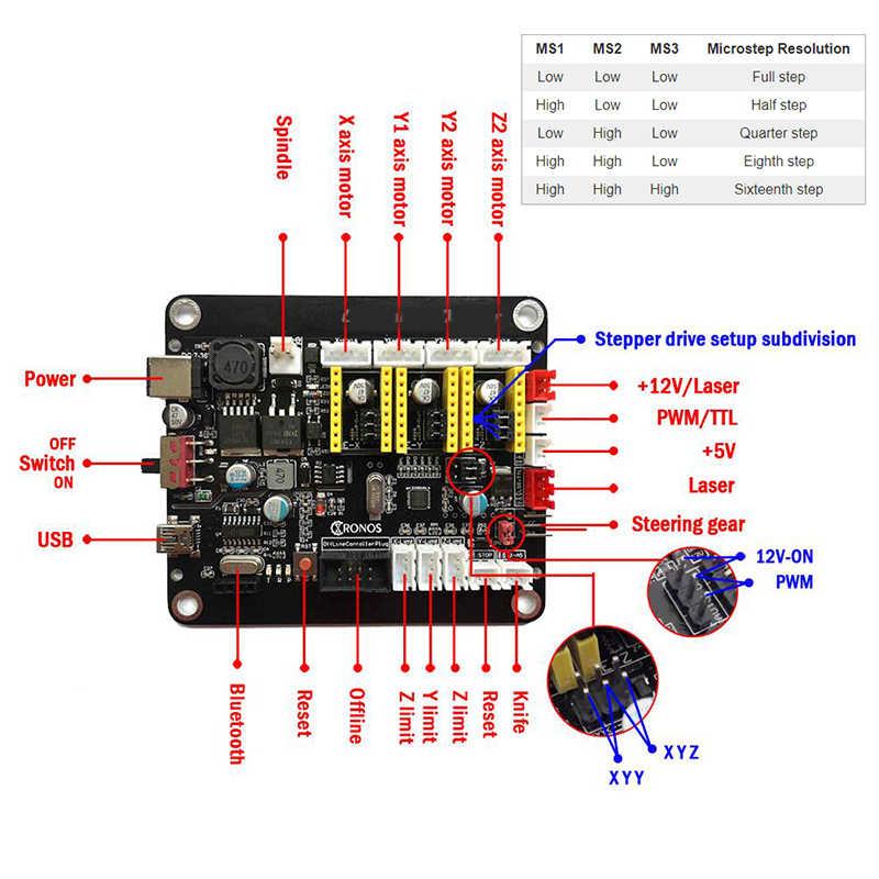 Russische Lager CNC 3018Pro/3018Pro15W GRBL DIY 3 Achse pcb fräsmaschine Holz Router laser gravur arbeiten können offline.