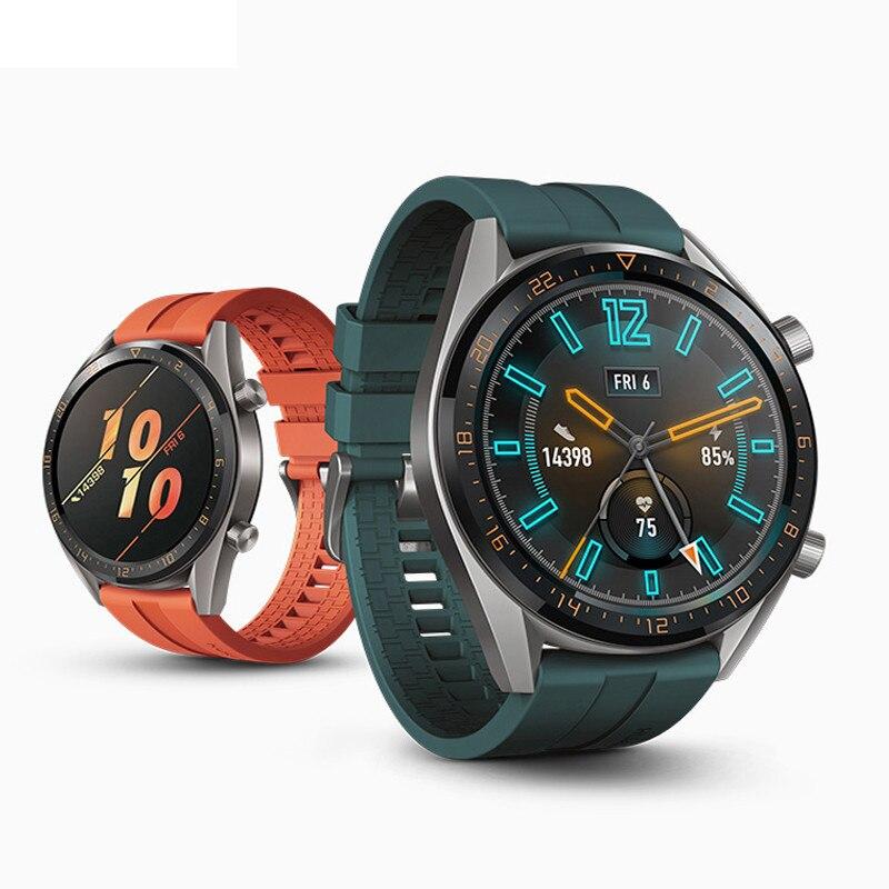22mm Gear S3 Frontier/classic Silicone Strap For Samsung Galaxy Watch 46mm Amazfit Bip 22mm Strap Huawei Watch GT Belt Bracelet