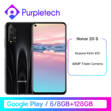 Original Honor 20S 20 S Kirin 810 Octa Core Smartphone 48MP Rear 32MP Front Camera 6.26