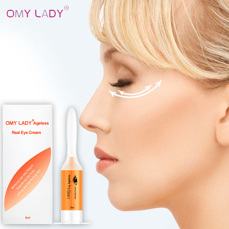 OMLADY Eye Serum Hyaluronic Acid Anti-wrinkle Anti-Aging Eye Gel Anti-Puffiness Dark Circle Whitening Moisturizing Essence Care