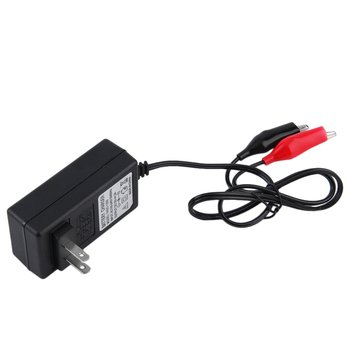 Multi Colored LED Display 12V 2A Sealed Lead Acid Rechargeable Battery Charger For 12V Car and Motorcycle Battery image