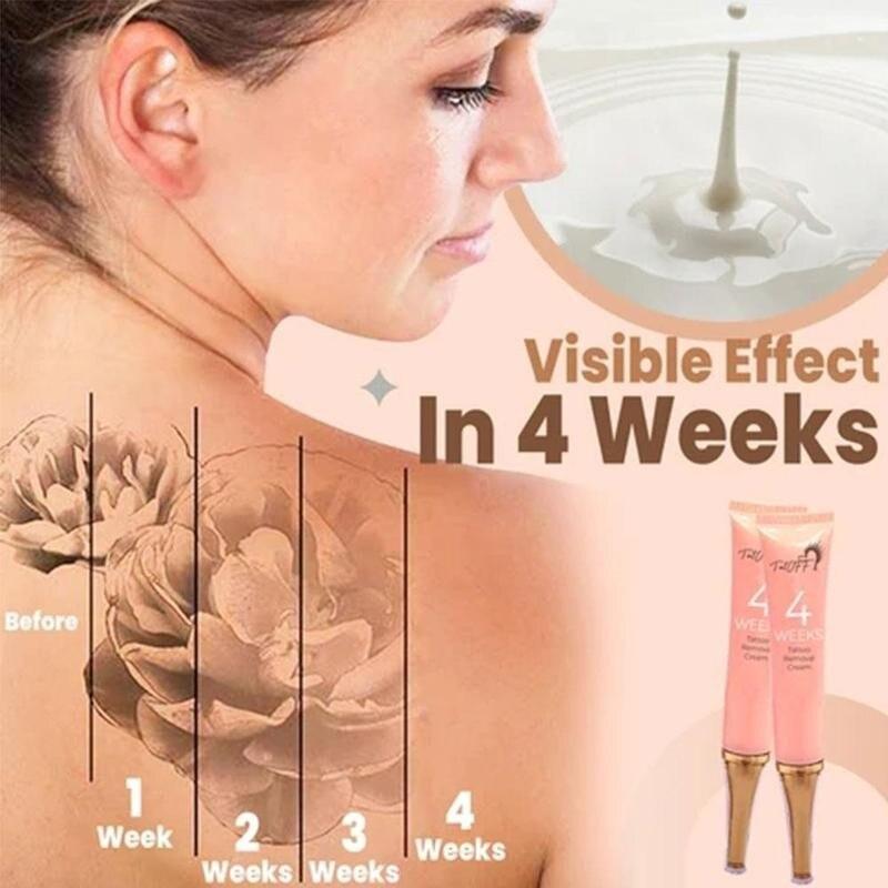 4 Weeks Tattoo Removal Cream