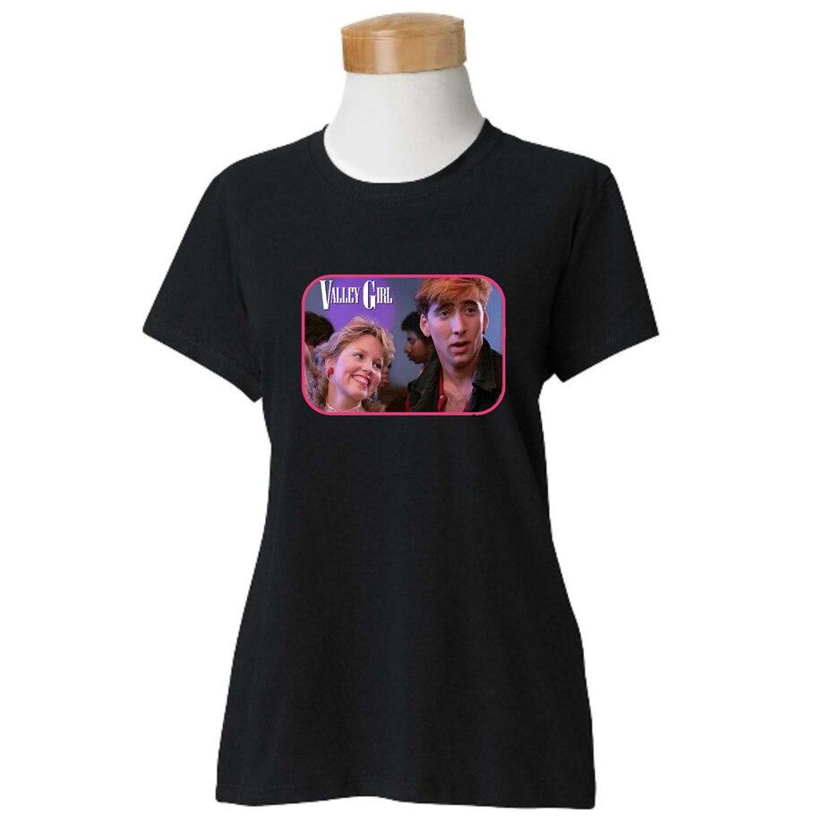Женская футболка Valley Girl, новинка (wt), выберите свой цвет и размер в стиле фильма 80 и 39S, крутая Повседневная футболка