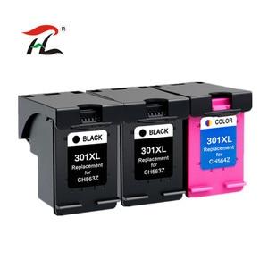 Image 1 - Compatível Para HP 301XL 301XL cartuchos de tinta para HP 301 para hp Deskjet 301 1000 1010 1050 1050A 2510 2514 2540 2542 2547 printer