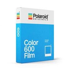 Original Color 600 película 8 hojas fotos instantáneas papel de marco blanco para Vintage 600 636 Closeup OneStep cámaras Tipo I para viajes