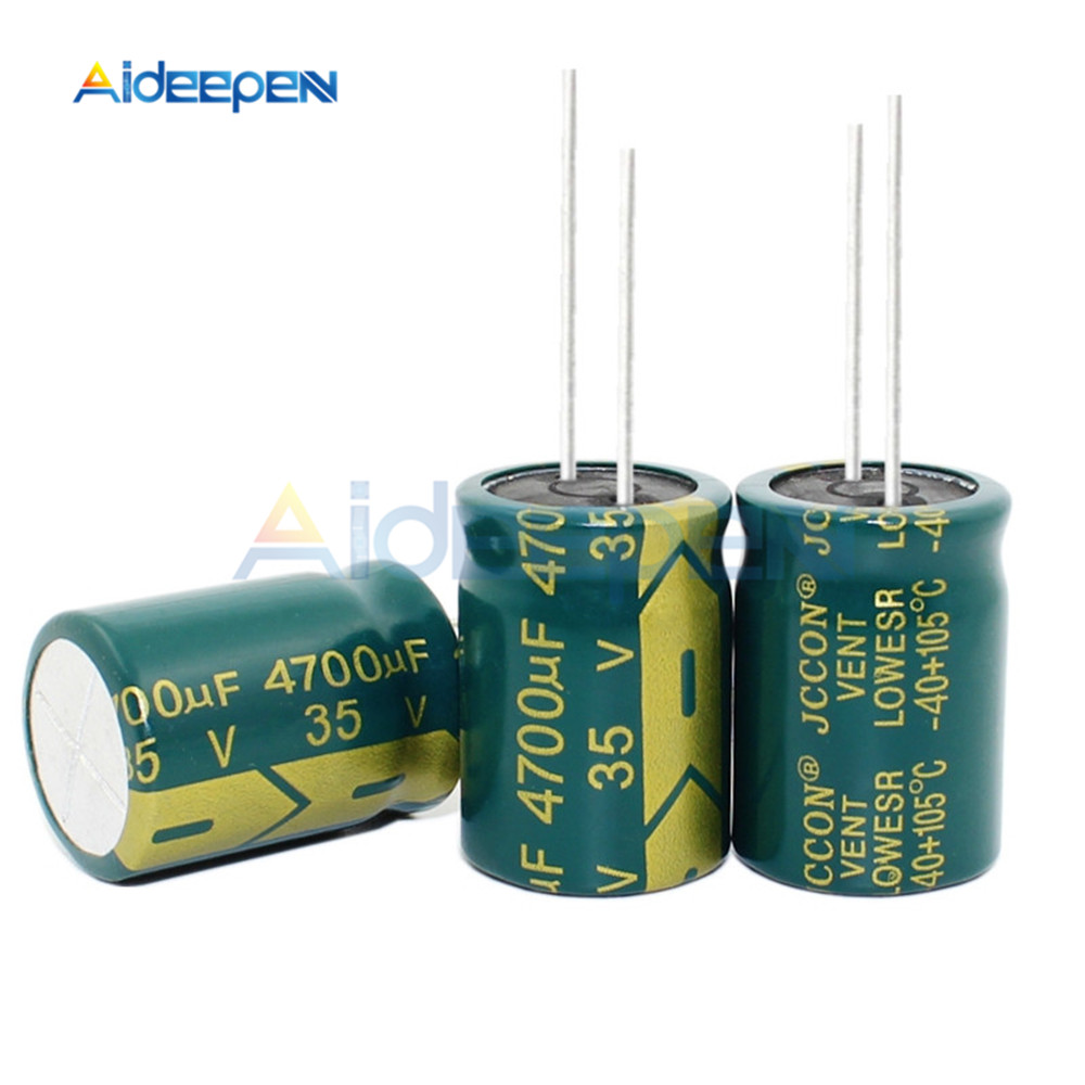 5PCS 35V 4700UF 18*25MM Aluminum Electrolytic Capacitor 18x25MM
