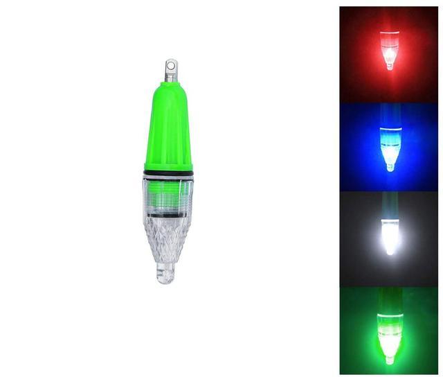 5pcs 12cm 28g 빛나는 물고기 빛 수 중 방수 led 다채로운 램프 보트 낚시 물고기 빛 밤 낚시 도구를 수집