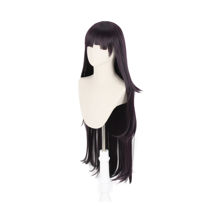 Image 3 - Dangan Ronpa Tsumiki Mikan Long Wig Cosplay Costume Danganronpa Women Heat Resistant Synthetic Hair Halloween Party Wigs-in Anime Costumes from Novelty & Special Use