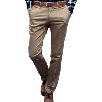 Garnitur męski dno biznesowe spodnie męskie spodnie dopasowana sukienka spodnie męskie spodnie męskie spodnie spodnie biurowe męskie ubrania Pantalones tanie i dobre opinie mens suit pants COTTON Mieszkanie Formalne Zipper fly