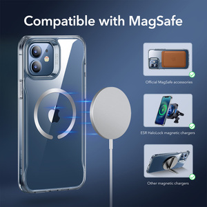 Image 3 - ESR Magnetic Case for iPhone 12/12 Pro Max Sidekick Hybrid Case with HaloLock Magnetic Wireless Charging Case for iPhone 12 Pro