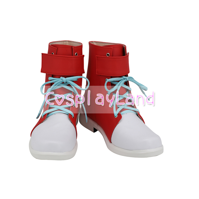 Ghiaccio Cosplay Shoes Red