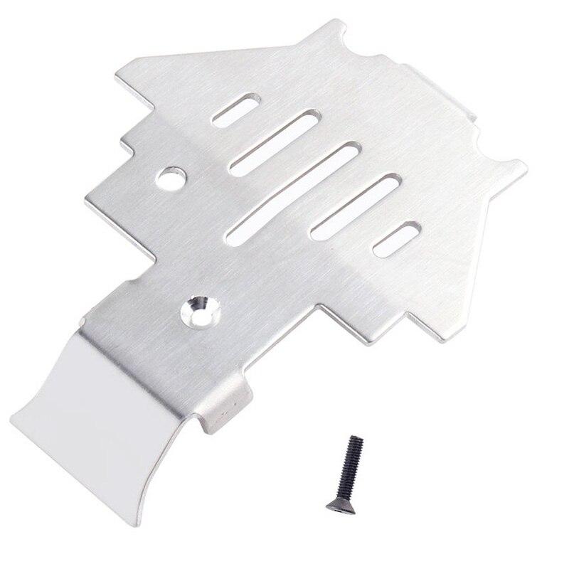 Para a liga de alumínio trx4 chassis armadura proteção skid placa para 1/10 rc rastreador para traxxas Trx-4 trx4