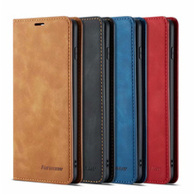 10piece/lot For Samsung Galaxy S10 Plus Case Magnetic Phone S10+ Wallet Flip Leather Stand