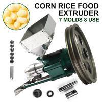 높은 생산적인 옥수수 내뿜는 밀어남 기계 내뿜어진 음식 압출기 분첩 식사 기계