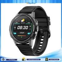 Reloj inteligente resistente al agua para hombres y mujeres, Smartwatch con pantalla grande HD de 360x360, IP68, medidor de temperatura, presión arterial, oxígeno, GPS, 24H