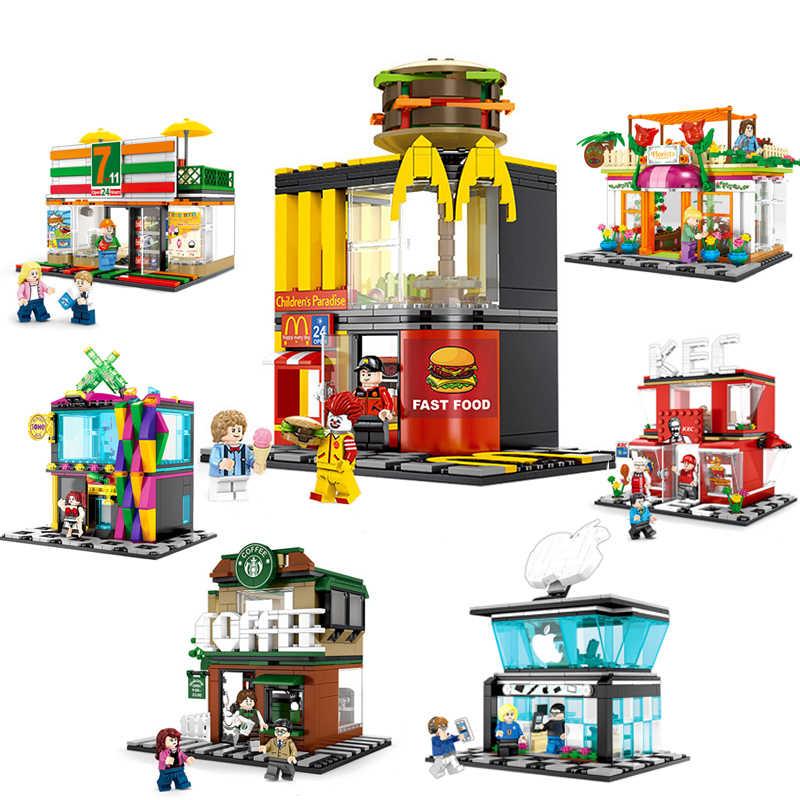 Bausteine Polizei Stadt Army Kinder Figuren Spielzeug Modell Geschenk Anime