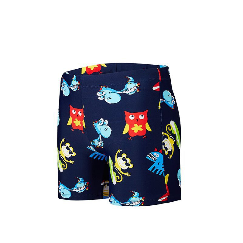 2019 New Style Na Tony BOY'S Swimming Trunks Fashion Cartoon BOY'S Printed Shorts KID'S Swimwear A Generation Of Fat