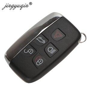 Image 2 - Jingyuqin 5 pçs 315/434 mhz chave remota do carro para jaguar land rover discovery 4 freelander range rover esporte evoque inteligente chave fob