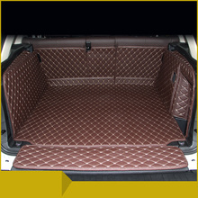 цена на Lsrtw2017 Leather Car Trunk Mat Cargo Liner for Bmw X3 2011 2012 2013 2014 2015 2016 2017 Bmw X3 F25 Rug Carpet Accessories