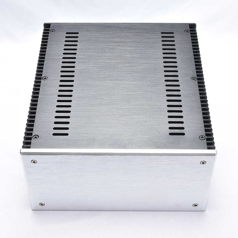 240*120*271MM DIY Box 2412 All Aluminum Amplifier Chassis Case Blank Version A And B Amplifier Shell Amp Enclosure Housing