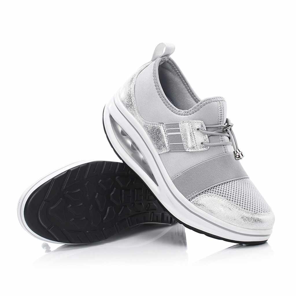 Zapatillas de deporte informales para mujer a la moda más cálidas para senderismo y invierno